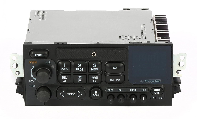 新しい1995 – 2005 GMCシボレー車トラックvan AM FMラジオAux入力アップグレードCDコントロール B07DFNMKHG