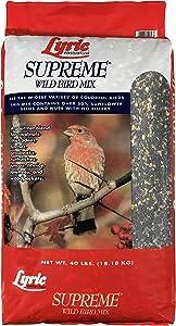 Lyric Supreme Wild Bird Mix - 40 lb.