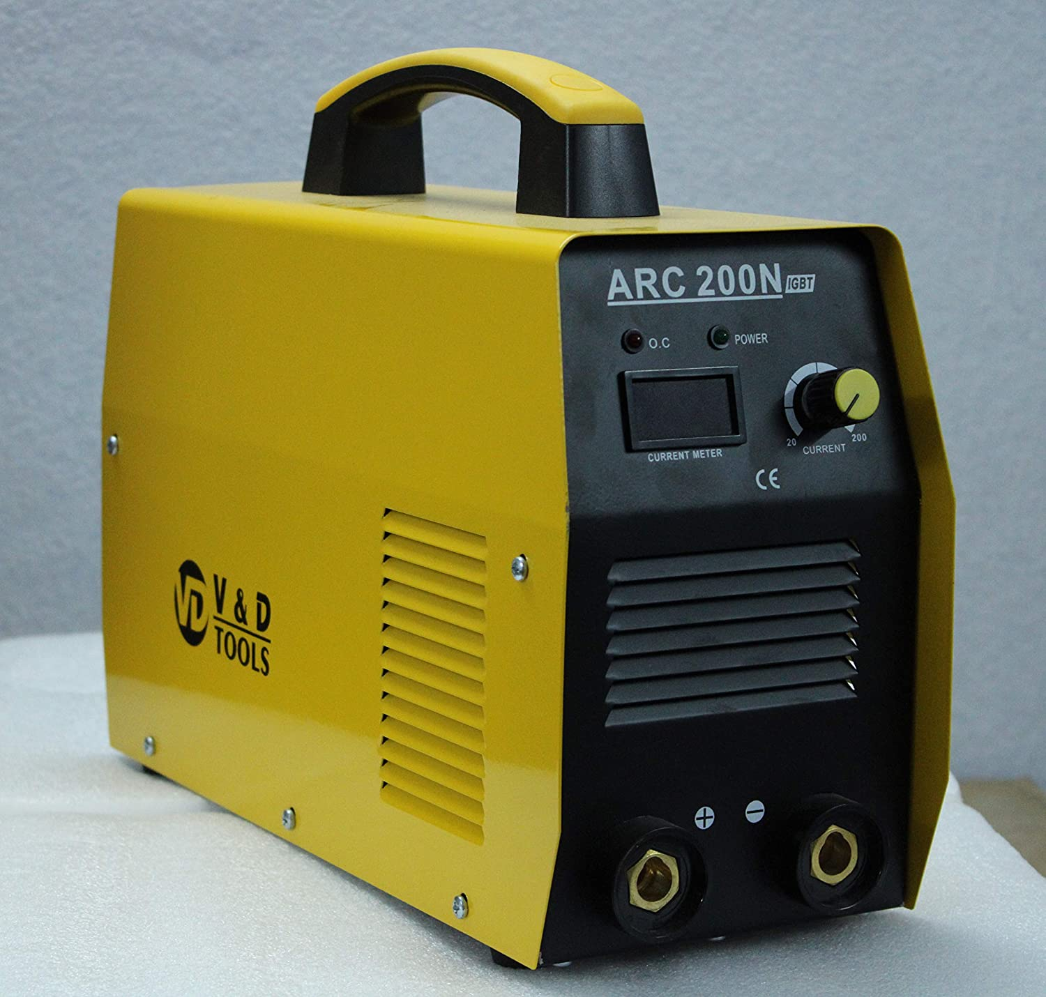 Inverter Welding Machine Arc 200 Amps With All Accessories (Yellow)