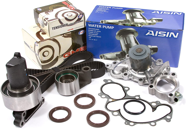 93-95 Toyota Pickup 4Runner T100 3.0L SOHC Timing Belt AISIN Water Pump Kit 3VZE