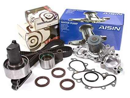 Evergreen TBK240WPA Fits 93-95 Toyota 4Runner Pickup V6 3 0L 3VZE Timing  Belt Kit AISIN Water Pump