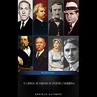 Classic Authors Super Set Series 1: (Shandon Press): Mark Twain, Edgar Allan Poe, , H.P Lovecraft,Robert E. Howard...