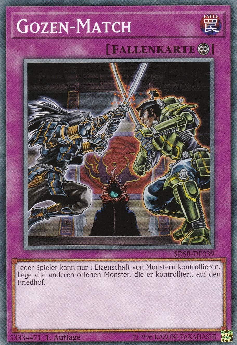 Gozen-Match Auflage SDSB-DE039 1 Deutsch Common Yu-Gi-Oh