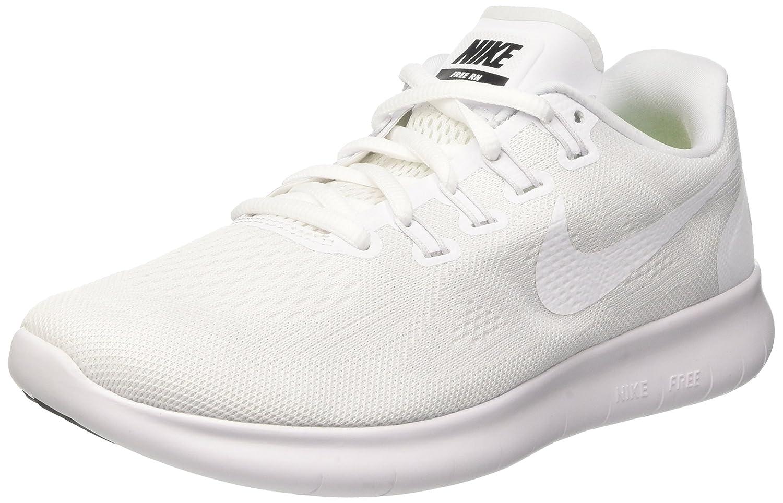 NIKE Women's Free RN 2017 Running Shoe B01M6YW9MN 8 B(M) US|White/White-black-pure Platinum