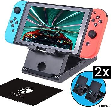 CamKix Juego de 2 Soportes, compatible con Nintendo Switch: Amazon ...