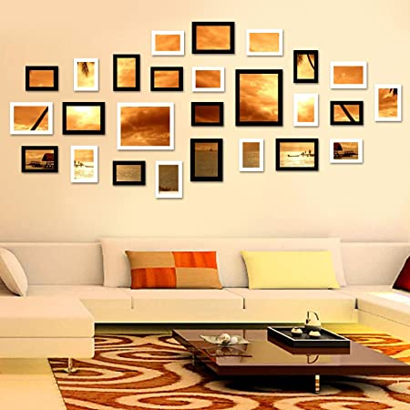 Allright Multi Picture Photo Frames DIY Home Wall Decoration Wooden ...