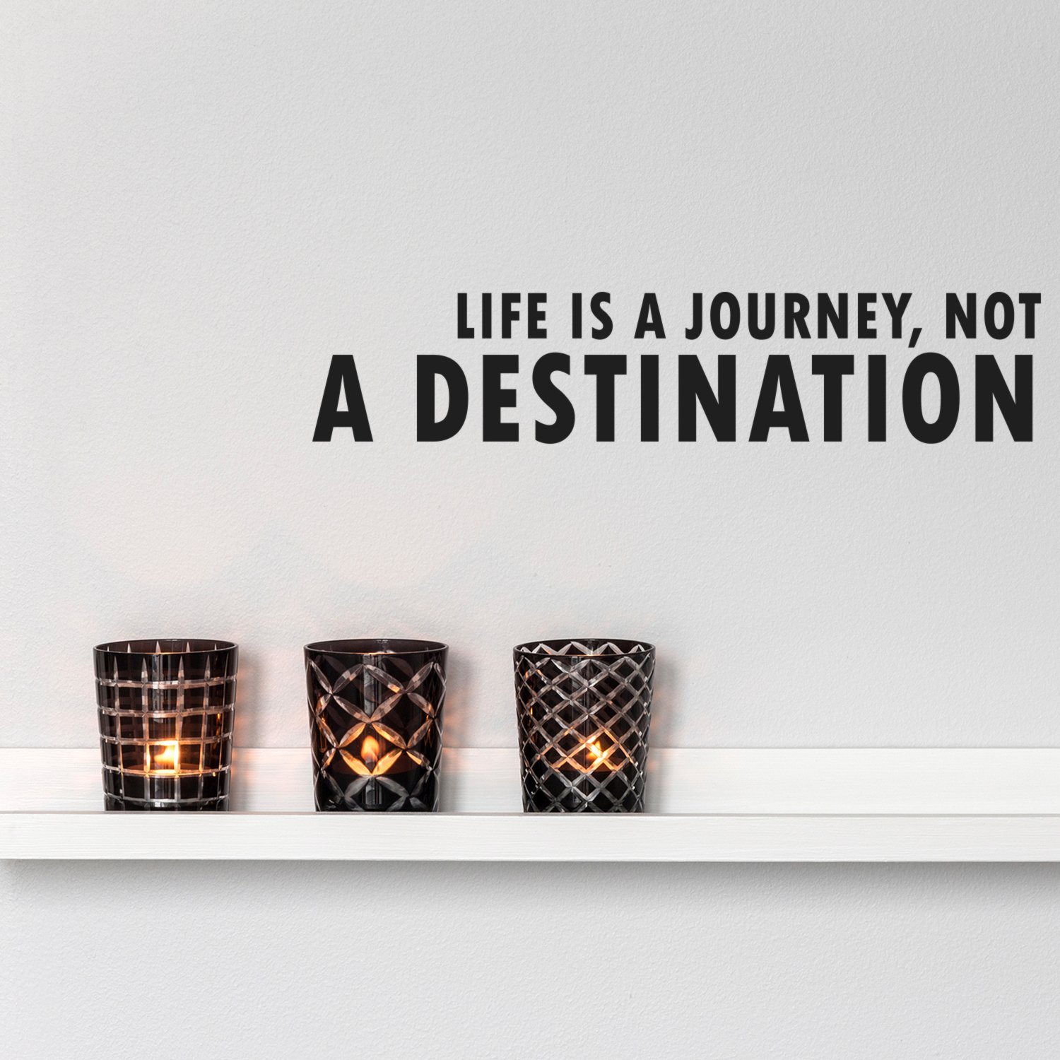 Amazon Life Is A Journey Not A Destination Inspirational