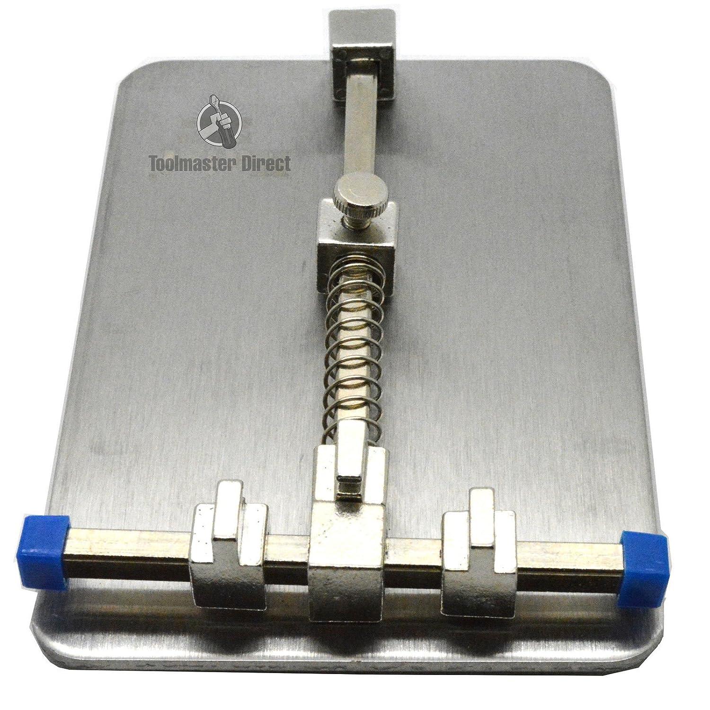 Acenix Pcb Fixtures Repairing Circuit Boards Stainless Steel Holder Metal Board Repair Tool For Mobile Phone Iphonesamsung Diy Tools