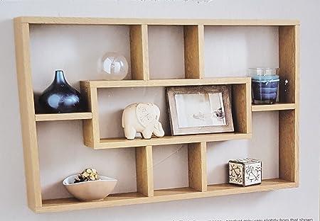 stylish and attractive space saving multi compartment wall shelf rh amazon co uk stylish wall mounted shelves stylish wall shelf