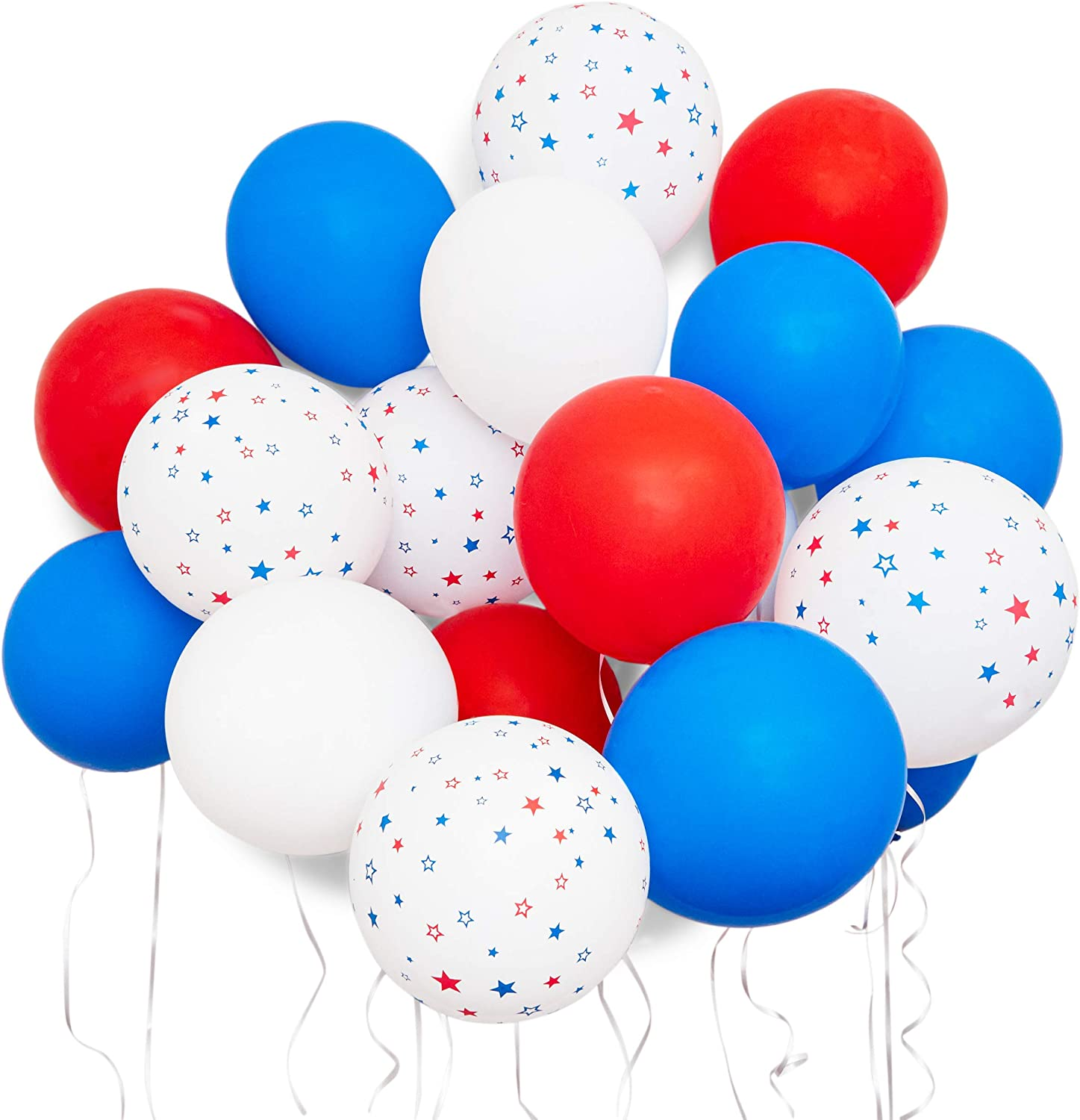 Star Party Balloons for Election (12 Inches, 116 Pack)