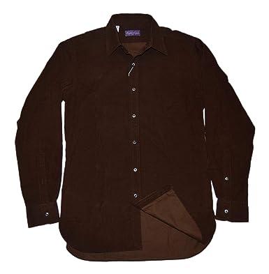 Lauren Shirt Label Purple Thin Dress Ralph Corduroy Polo Mens xCeBod