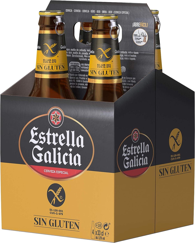 Estrella Galicia (4 botellas de 33 cl)
