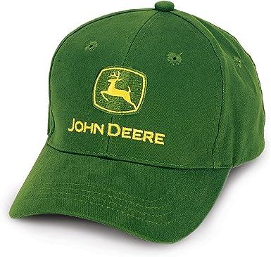 John Deere Oficial Gorra Cierre de Hebilla Ajustable, Color Verde ...