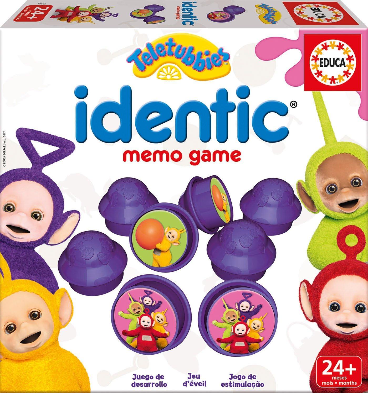 Teletubbies - Baby Identic Memo, Juego de Mesa (Educa Borrás 17063): Amazon.es: Juguetes y juegos