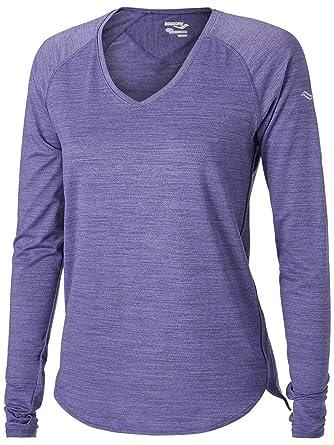 1be4ebe416 Amazon.com: Saucony Gait Long Sleeve Women's: Clothing