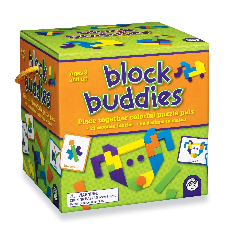 Block Buddies Educational Block Game for Kids MindWare 25106W