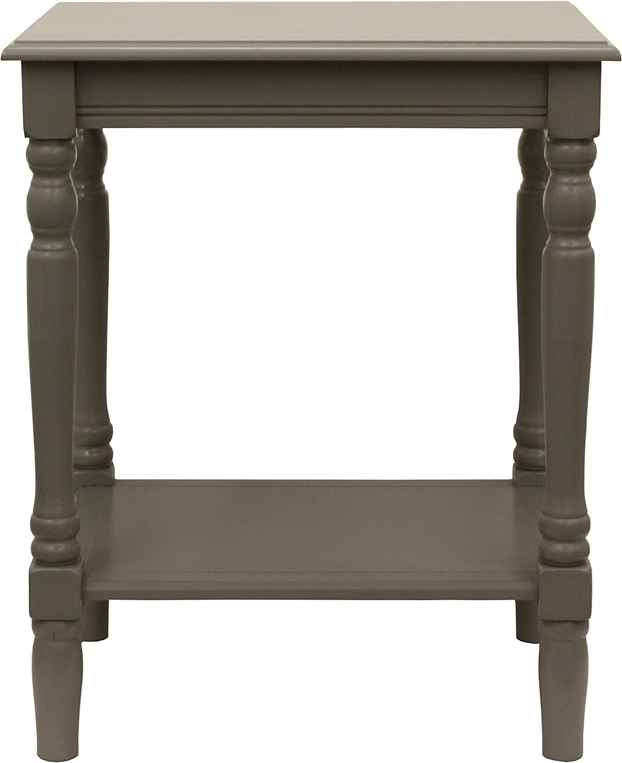 Décor Therapy FR1862 End Table, Gray