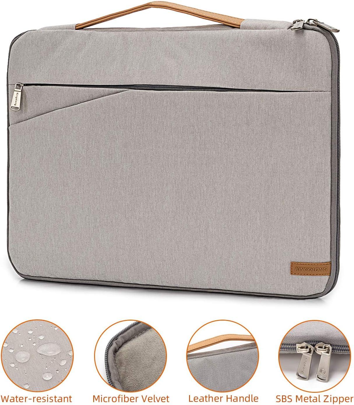 Laptop Sleeve 17.3 inch Laptop Case for Men Women Laptop Bag Commute Briefcase Business Laptop Cover MacBook Pro Notebook Protective Case(Gray)