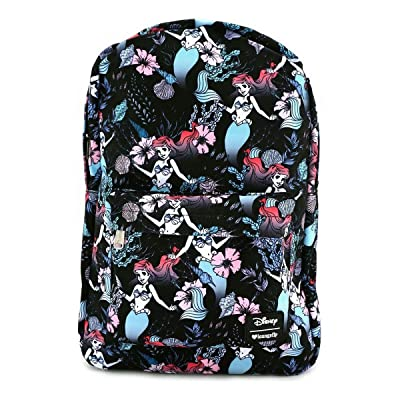 Loungefly x Ariel Floral AOP Backpack | Kids' Backpacks