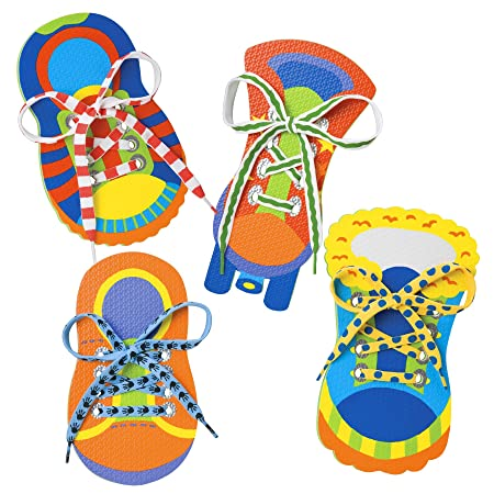 Amazon.com: ALEX Toys Little Hands One Two Tie My Shoe: Toys & Games