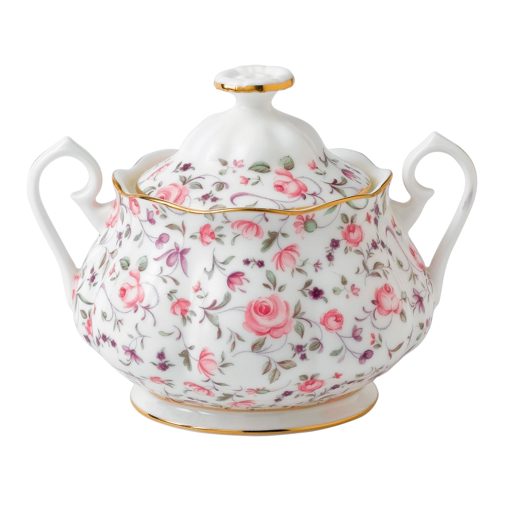 Royal Albert 8704025823 New Country Roses Rose Confetti Teaset, 3-Piece by Royal Albert (Image #3)