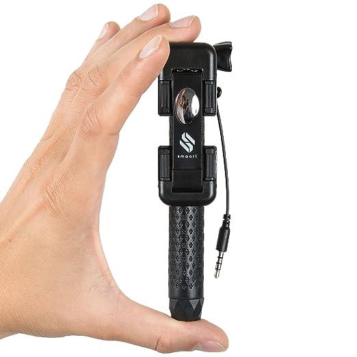 8 opinioni per Mini Bastone Selfie stick universale per Smartphone e GoPro con Cavo di