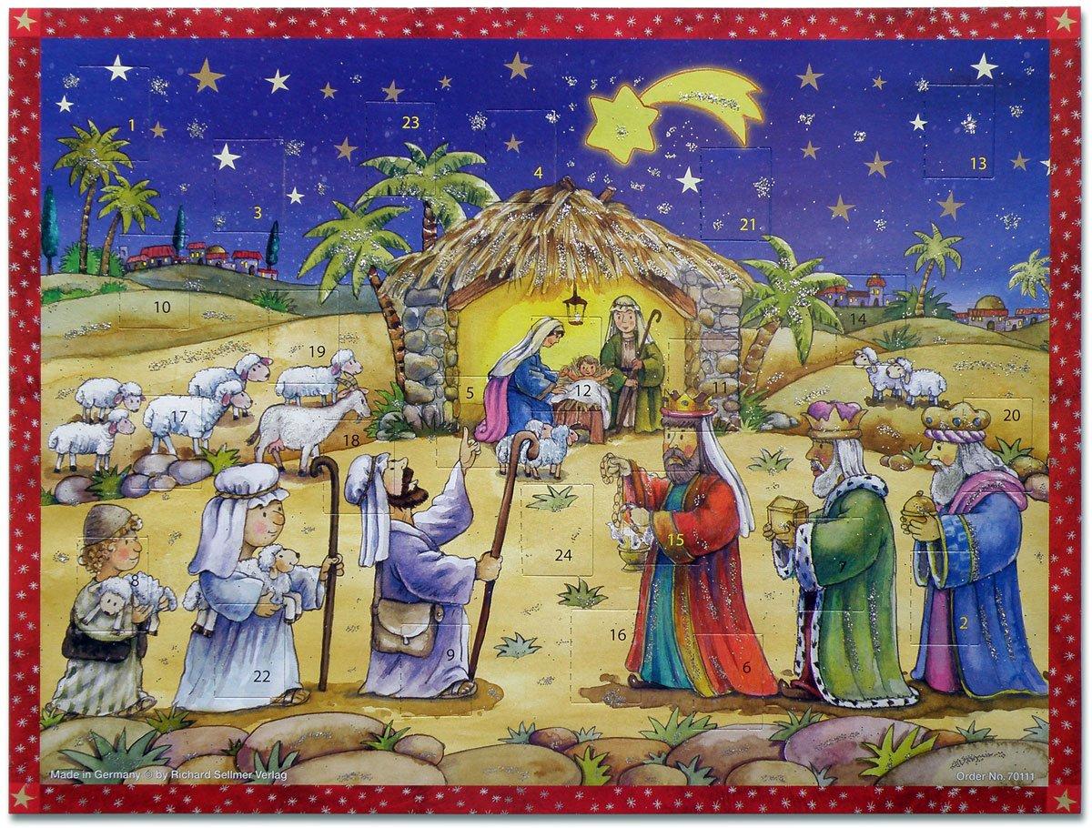 °° Adventskalender - Krippenszene Uljö