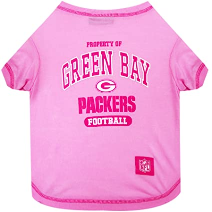best loved eec42 8b335 NFL PINK PET APPAREL. JERSEYS & T-SHIRTS for DOGS & CATS available in 32  NFL TEAMS & 4 sizes. Licensed, TOP QUALITY & Cute pet clothing for all NFL  ...