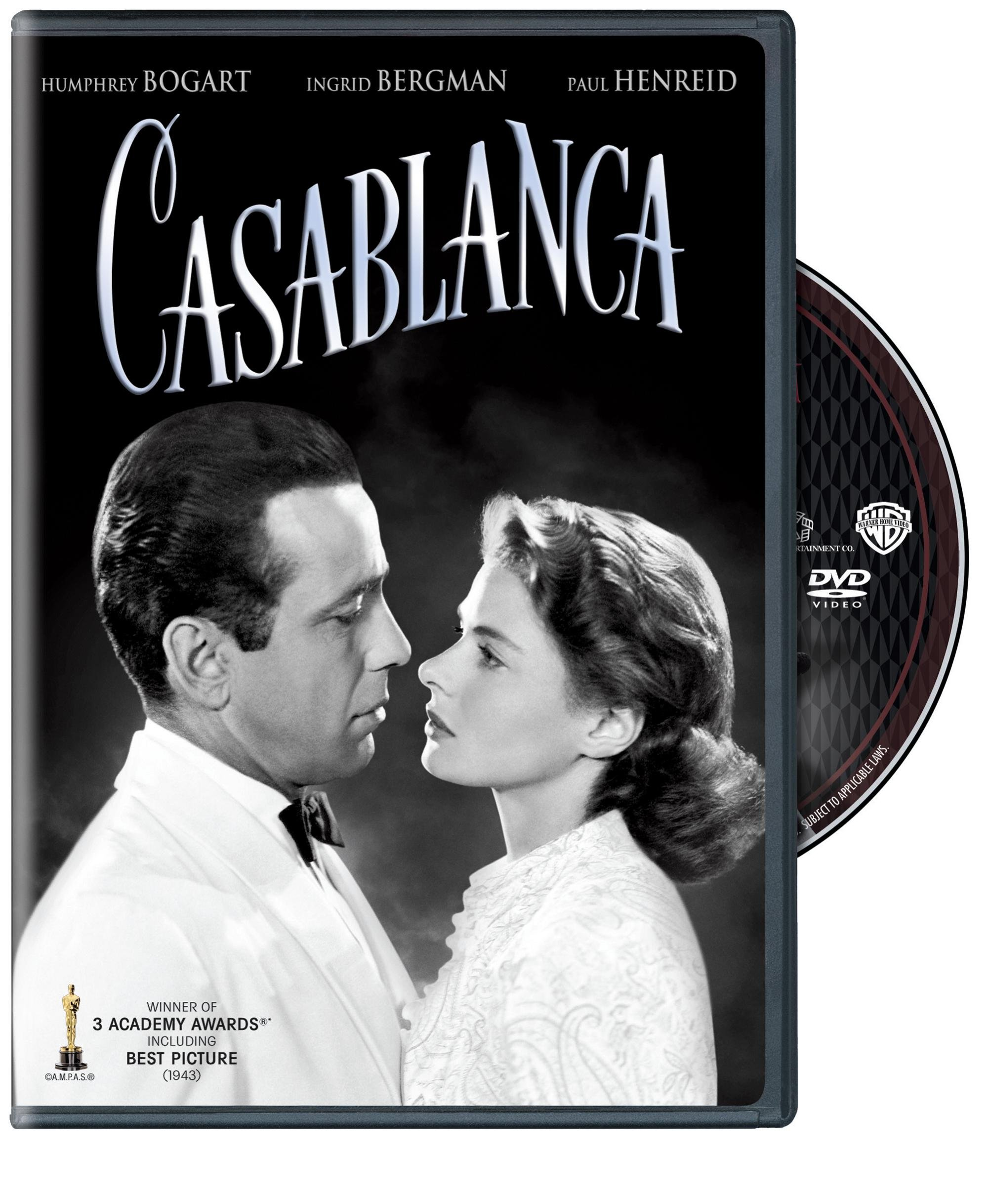 DVD : Casablanca (Special Edition, Anniversary Edition, Eco Amaray Case, 2 Disc)