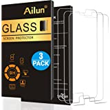 Galaxy S6 Screen Protector,[3 Pack]By Ailun,Tempered Glass,Samsung Galaxy S6,2.5D Edge,Anti-Scratch,Case Friendly-Siania Retail Package