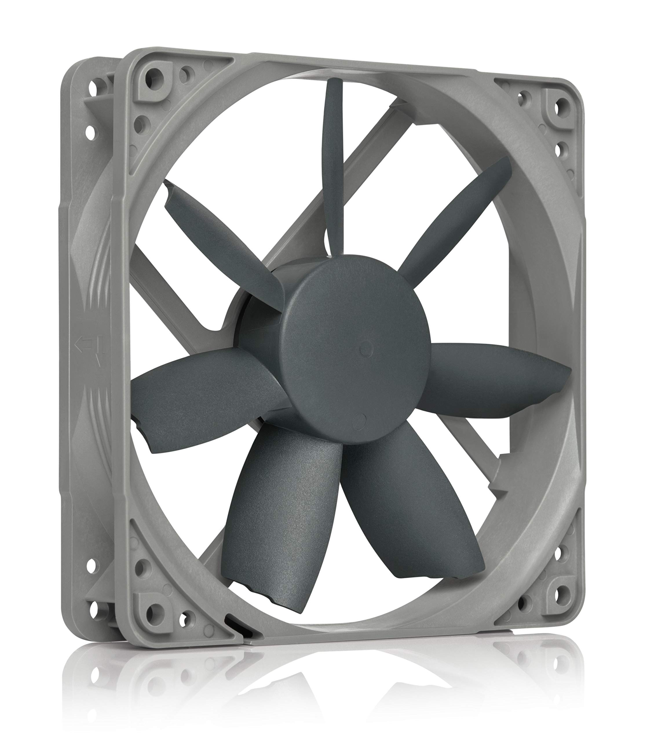 Noctua NF-S12B redux-1200 PWM, High Performance Cooling Fan, 4-Pin, 1200 RPM (120mm, Grey)
