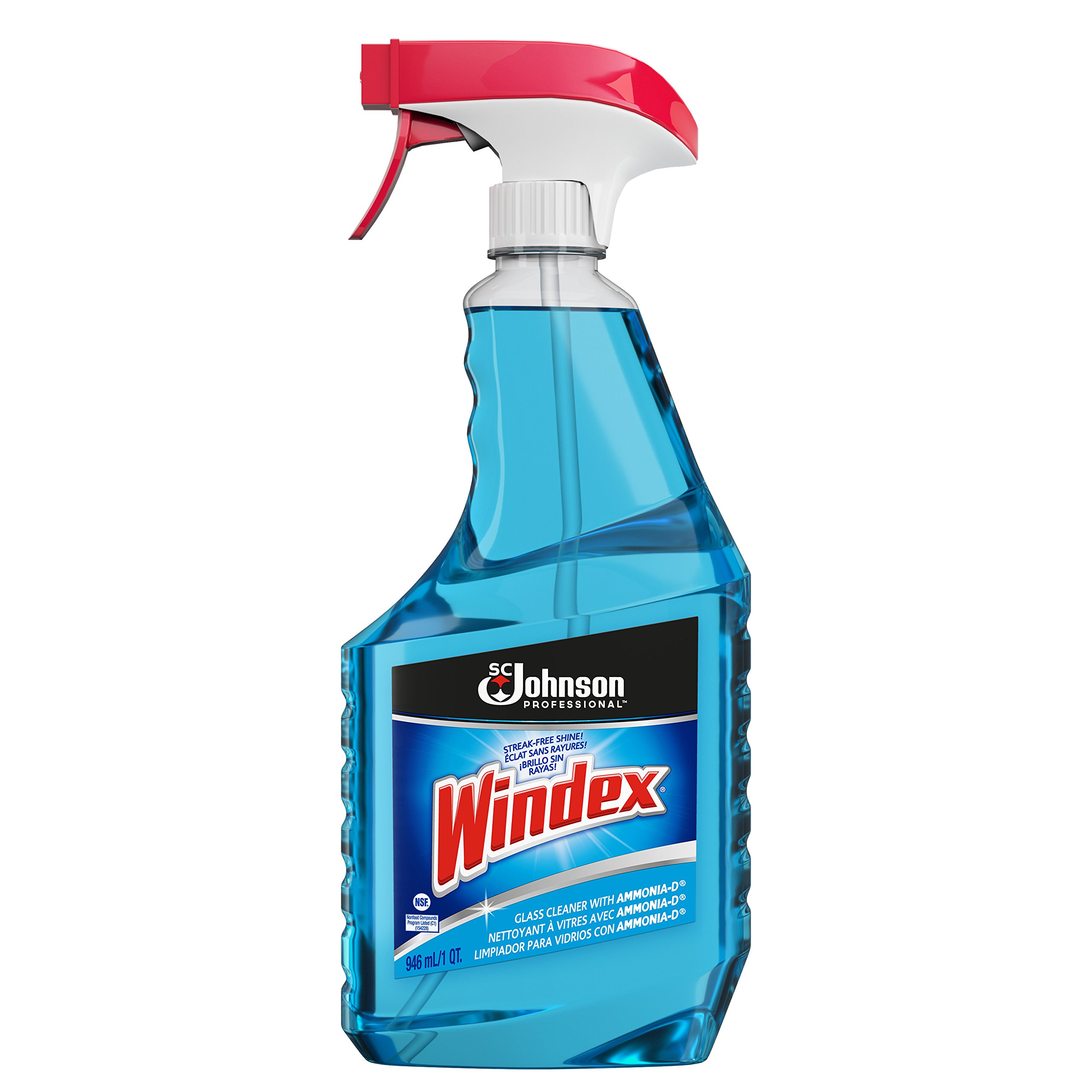 Windex Glass & Multi Surface Cleaner, 32 oz, Pack of 12