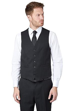 Amazon.com: Verde musgo Esq. Traje de ajuste Regular, negro ...