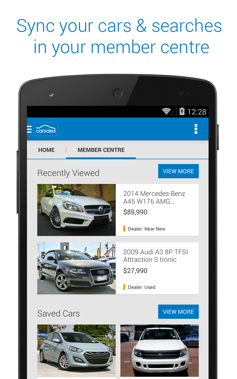Car Buying App >> carsales.com.au: Amazon.com.au: Appstore for Android