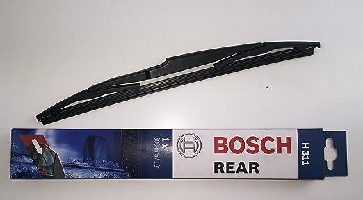 Bosch - Set de limpiaparabrisas izquierdo y derecho delanteros + trasero: Amazon.es: Coche y moto