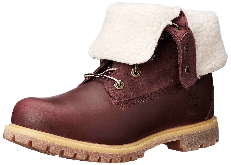 Timberland Women's Teddy Fleece Fold-Down Waterproof Boot Teddy Fleece Fold Down WP