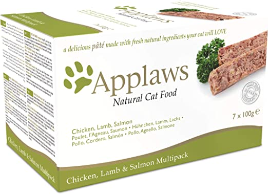Applaws Cat Food Pate Multipack Fresh Selection 7x100g