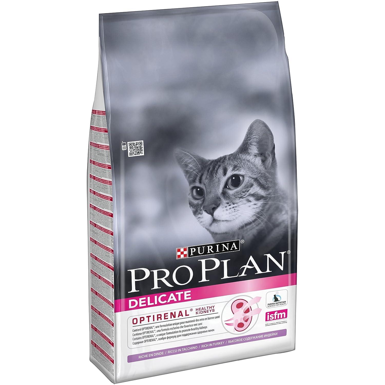 PRO PLAN Delicate - Riche en Dinde - 10 KG - Croquettes pour chat adulte Nestle ProPlan 7613033566509