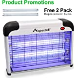 Aspectek TRTAZ11A HR292 Upgraded 20W Electronic Bug Zapper, Insect Killer-Mosquito