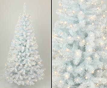 Tannenbaum Weiss Led.Kunstpflanzen Discount Com Tannenbaum Weiß Künstlich Mit 210cm Und