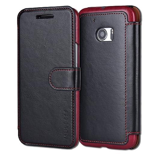 44 opinioni per Custodia HTC 10- Cover HTC 10- Mulbess Custodia In Pelle Con Flip Cover Per HTC