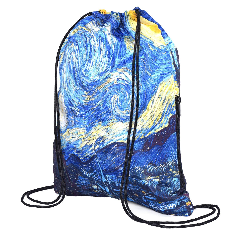 巾着袋 ナップサック 軽量 アウトドア おしゃれ イベントバッグ 防水バック レジャー/旅行/アウトドア B071XSFRPL