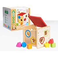 Early Learning Centre Wooden Shape Sorter, Amazon Exclusive