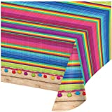 Creative Converting Print Plastic Tablecover, 54 x 102-Inch, Serape, Table Cover
