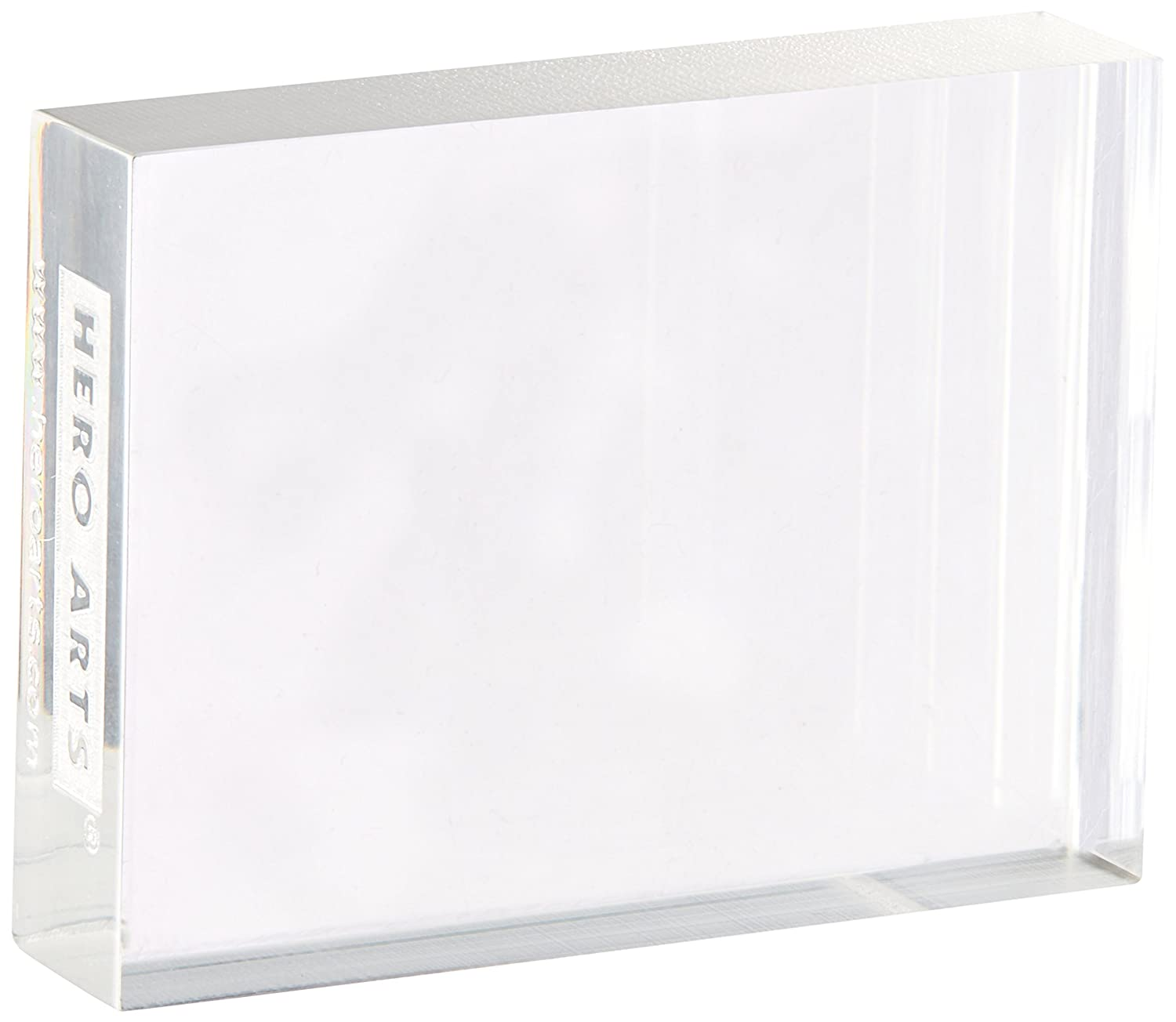 Hero Arts Acrylic Block, 4.75 by 6 4.75 by 6 CL083