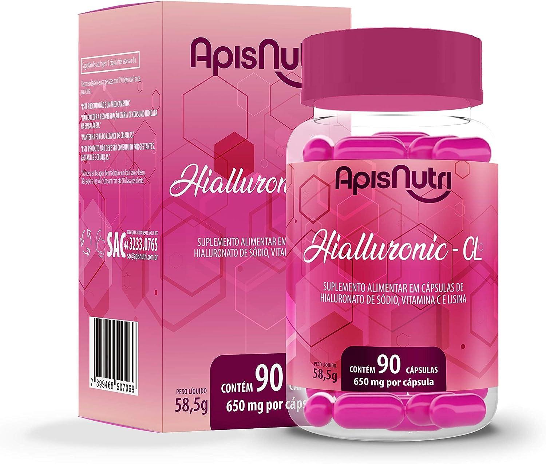 Hialluronic CL - 650mg (90 Caps), Apisnutri por Apisnutri