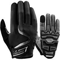 Cool Change Mens Cycling Gloves Breathable Mountain Bike Gloves Full Finger Bicycle Gloves Reflective Biking Gloves…
