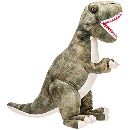 Amazon Com Prextex 15 Large Plush Dinosaur T Rex Large Cuddly Soft