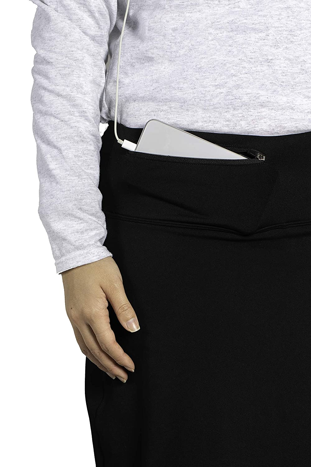 with Attached Leggings Chic Extreme Comfort Athletic Skirt