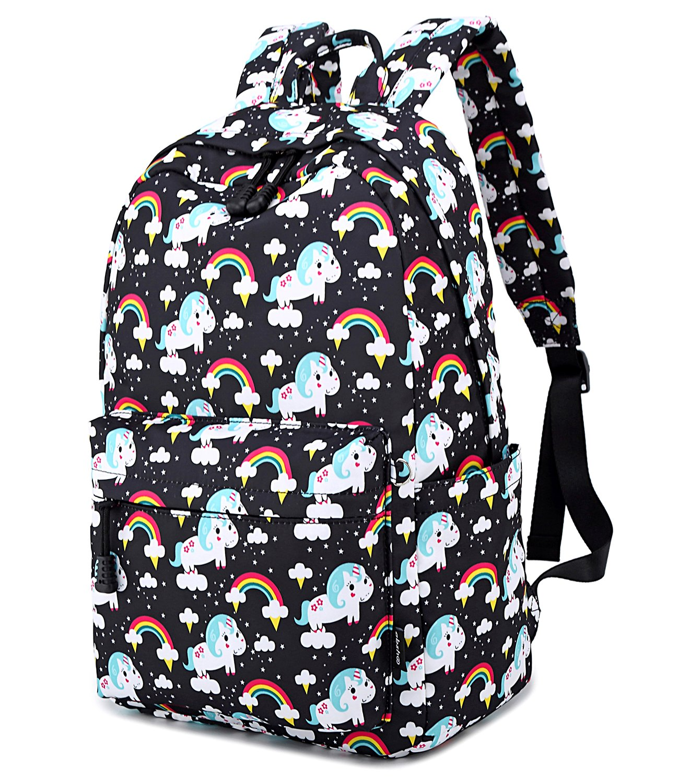 Abshoo Cute Lightweight Unicorn Backpacks Girls School Bags Kids Bookbags 4